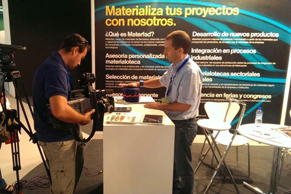 Javier Peña hace una demostración del funcionamiento de Step Lux