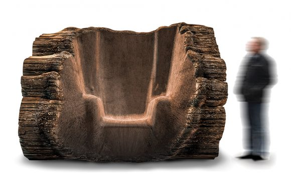 The Tree Trunk Chair (Maarten Baas)